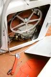 Repair of washing machine Stock Photos