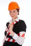 Repair woman Stock Photo