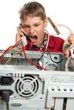 Repair your computer. Stock Image