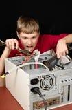 Repair your computer. Stock Photos