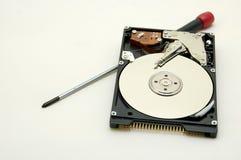 Repair your hard disc Stock Photo