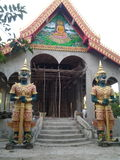 Repaire temple Royalty Free Stock Photos