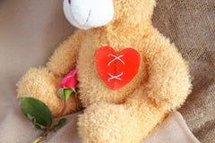 Repaired broken heart Stock Photography