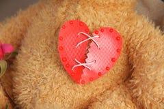 Repaired broken heart Stock Photos