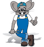Repairer Mouse Stock Photo