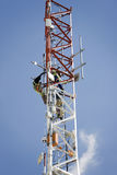 Repairing antenna Royalty Free Stock Photos