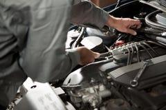 Repairing car Stock Photography