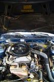 Repairing car engine Stock Image