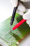 Repairing circuit board Stock Images