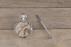 Repairing clock Royalty Free Stock Photo