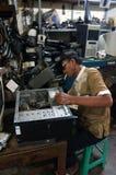 Repairing computer Royalty Free Stock Image