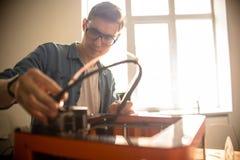 Repairing 3D Printer stock images