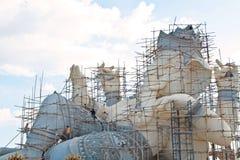 The repairing of Ganesha statue Stock Images