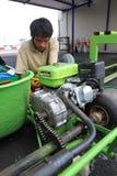 Repairing go kart Stock Photos