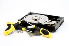 Repairing hardware Royalty Free Stock Images