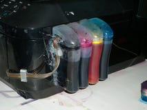 Repairing ink tank Stock Image