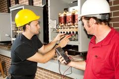 Free Repairing Power Distribution Center Stock Photos - 10245693