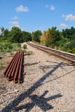Repairing Railroad Track Royalty Free Stock Images
