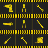 Repairing service tool sign icons Royalty Free Stock Photos
