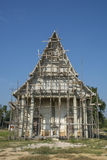 Repairing of temple in Thailand Stock Photos
