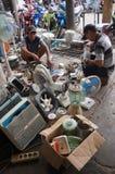 Repairing the used goods Stock Image