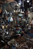 Repairing the used goods Stock Images