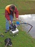 Repairing water pump 2 Royalty Free Stock Photography