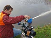 Repairing water pump 4 Royalty Free Stock Images