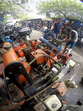 Repairing workworking tools Royalty Free Stock Photo