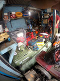 Repairing workworking tools Stock Image