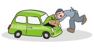 Repairman автомобиля Стоковые Фото