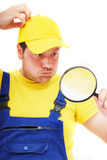 Repairman Stock Photo