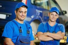 Repairman auto mechanic Stock Photo