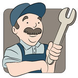 Repairman Cartoon Stock Images