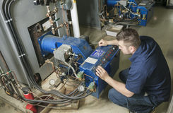 Repairman engineer Stock Photography