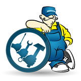 Repairman vector Stock Photography