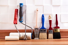 Repairs in the apartment Royalty Free Stock Photo