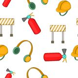 Repairs pattern, cartoon style. Repairs pattern. Cartoon illustration of repairs vector pattern for web Royalty Free Stock Photo