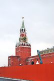 Repairs on the Red Square. Stock Images