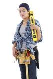 Repairwoman Royalty Free Stock Image