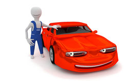 Reparação de automóveis Fotografia de Stock Royalty Free