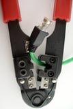 Reparação do cabo Imagem de Stock Royalty Free
