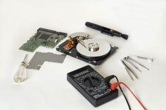 Reparación de HDD Fotografía de archivo libre de regalías