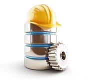 Reparación de la base de datos y mantenimiento preventivo stock de ilustración