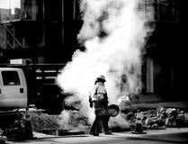 Reparación de la calle Fotografía de archivo