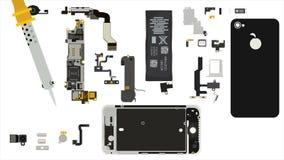 Reparación de Smartphone metrajes
