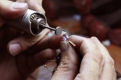 Reparación del anillo Foto de archivo libre de regalías