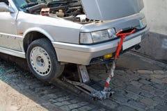 Reparación del coche Fotografía de archivo libre de regalías