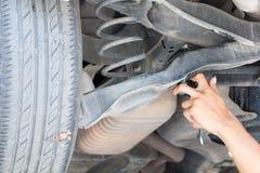 Reparación del coche Fotografía de archivo
