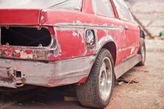 Reparación del coche viejo Foto de archivo libre de regalías